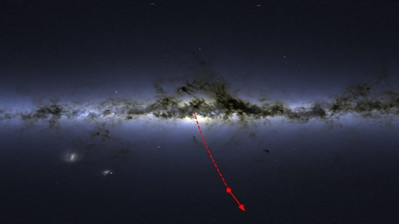 Black Hole Spits Out S5-HVS1 Star