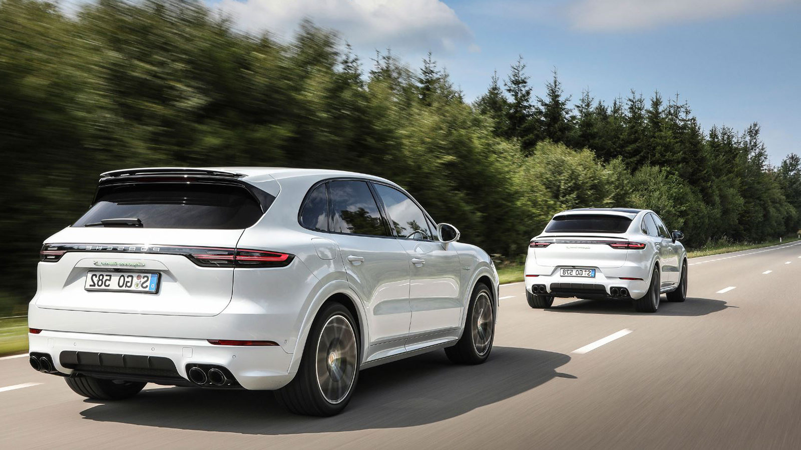 Porsche Works on a Four,Engine Drive for Electric SUV Models