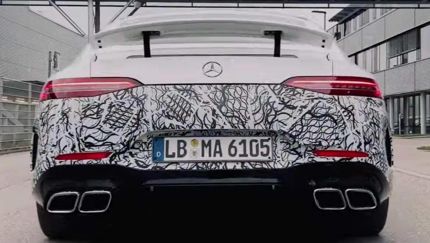 Mercedes-AMG GT 73 plug-in hybrid teased in new video