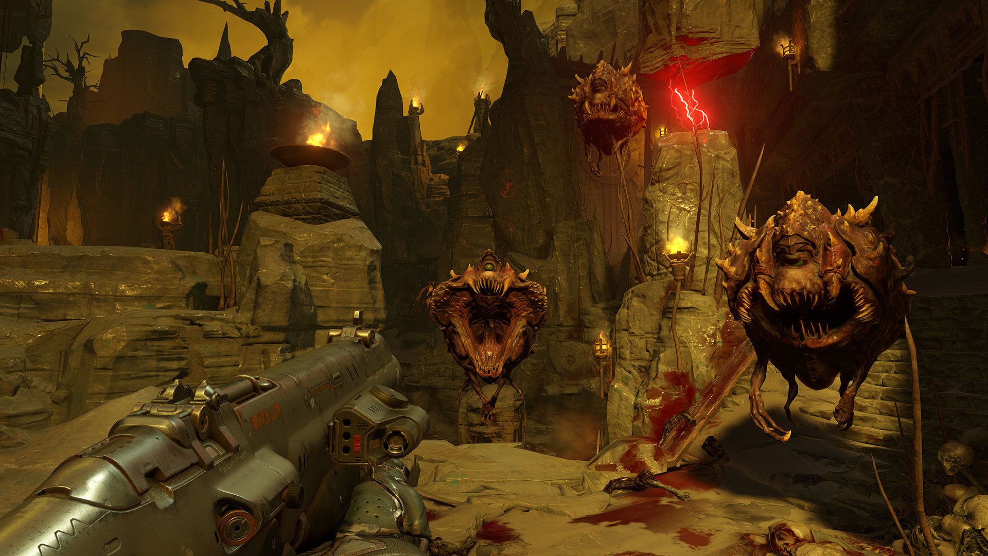 Doom Eternal features a home away from Hell