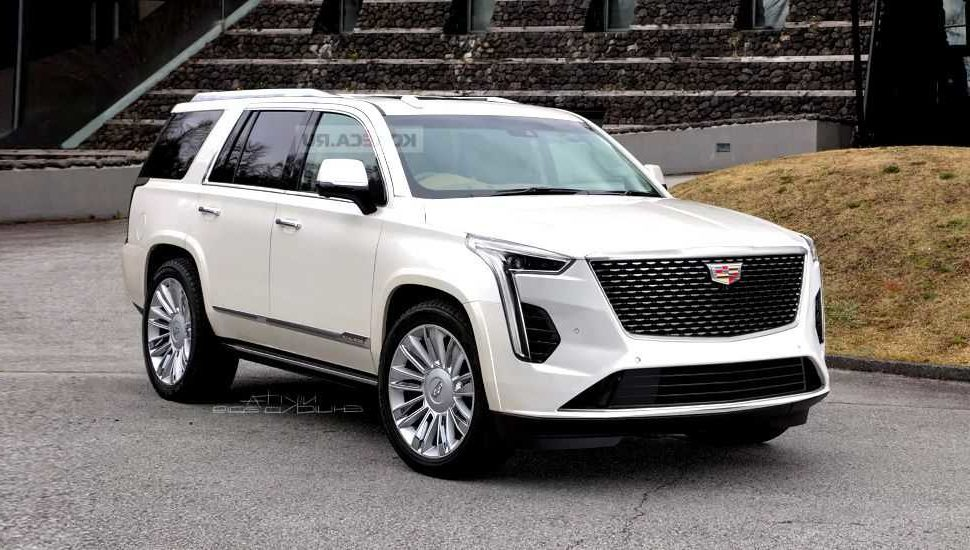 cadillac introduced 2021 escalade with its renovated