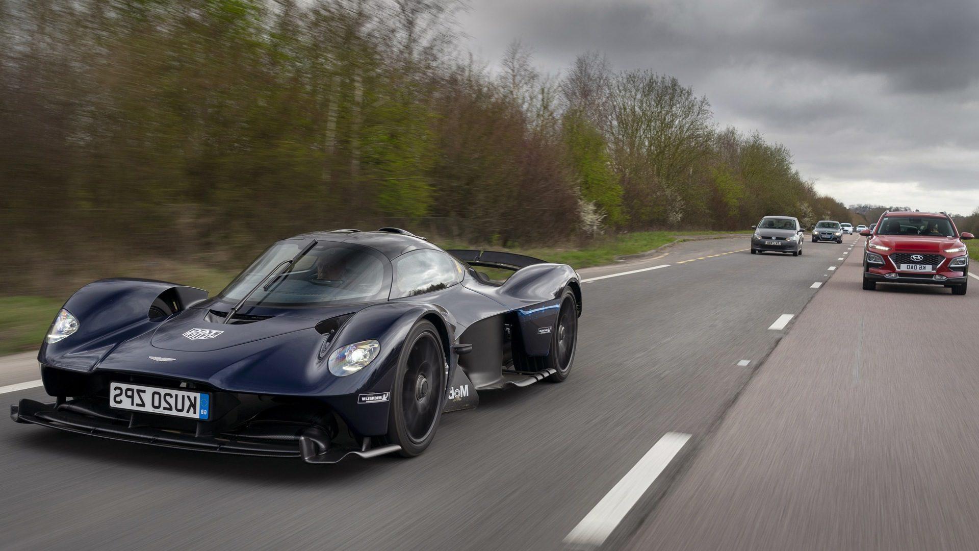 Aston Martin Shares Photos From 1160 Horsepower Valkyrie S Test Drive Somag News