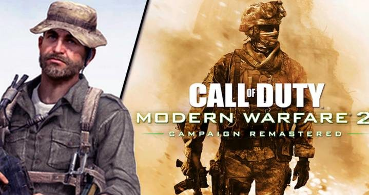 Call Of Duty Modern Warfare 2 Remastered Cover Art Revealed