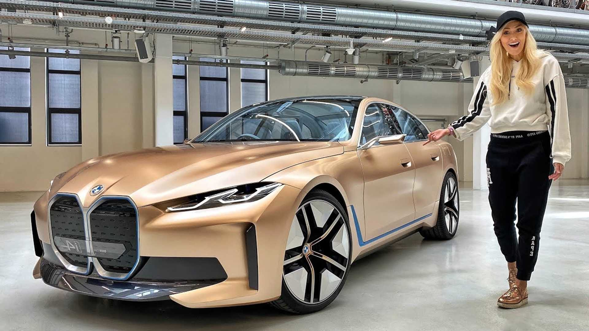 Video That Lets Us Take A Closer Look At The Bmw Concept I4 Like Never Before Somag News