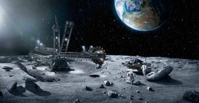 Minerālu iegūšana uz Mēness