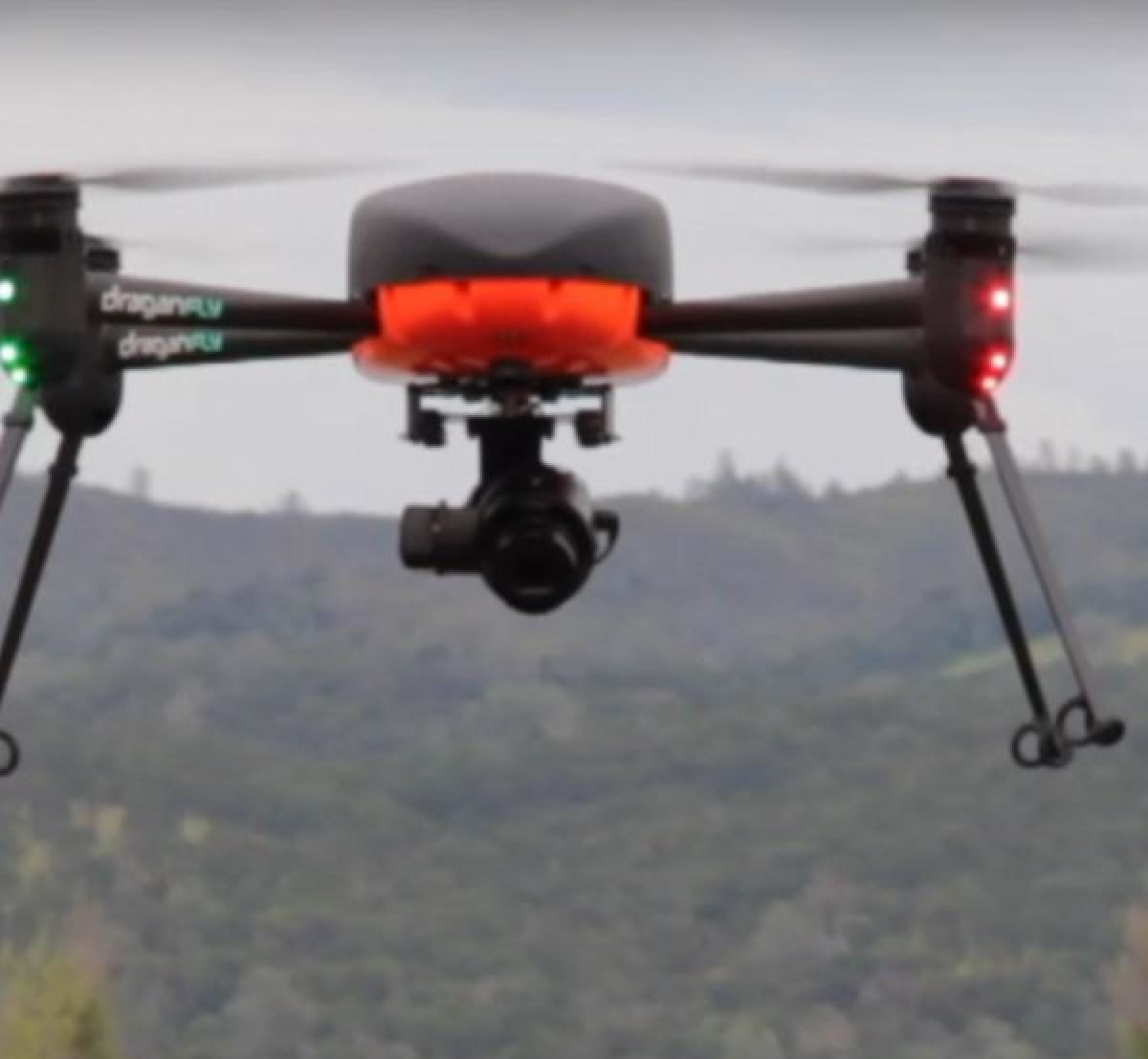 Police in Westport test drones to detect COVID-19 in crowds