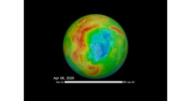 Earth finally fixes the largest ozone layer hole