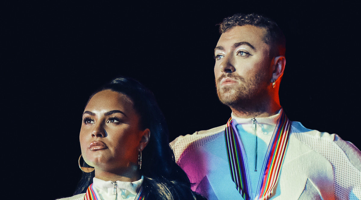 Demi Lovato and Sam Smith Go For Gold on 'I'm Ready' Single