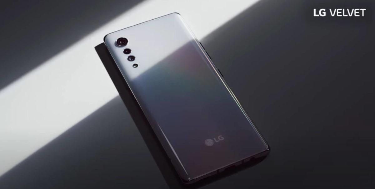 LG Velvet design and key spec revealed in official video