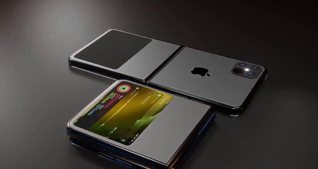 Foldable Phone Concept To Put Iphones Again In A Pocket Iphone 12 Flip Somag News