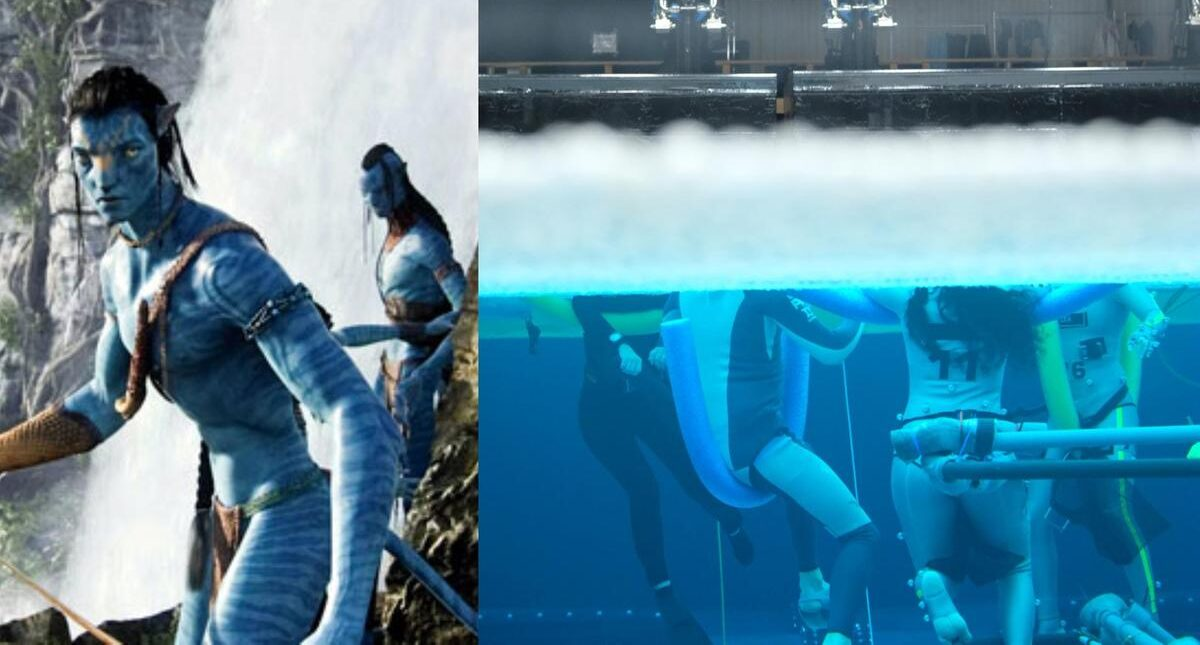 New photos from James Camerons Avatar 2 focus on underwater filming