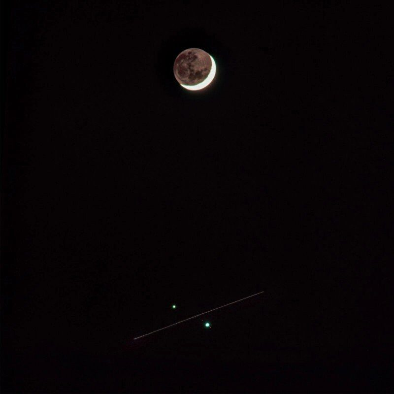 "QNHG members observe rare celestial conjunction of Jupiter and Saturn"""