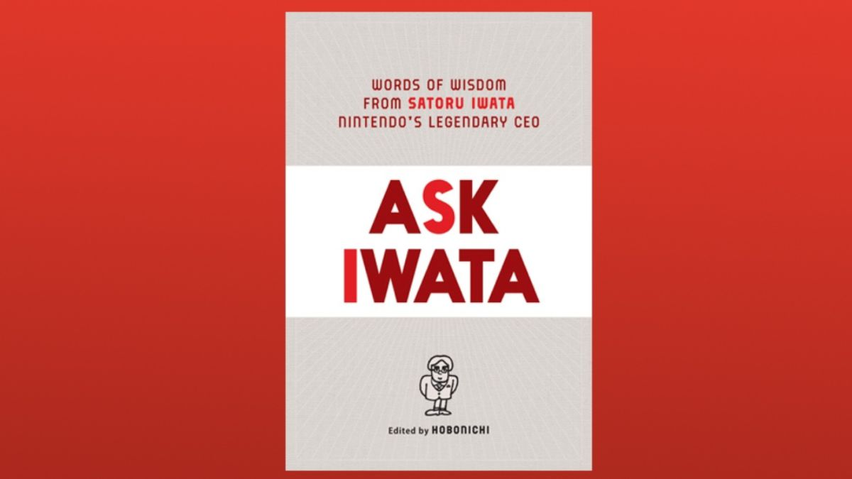 Ask Iwata interview book will be available in English from April