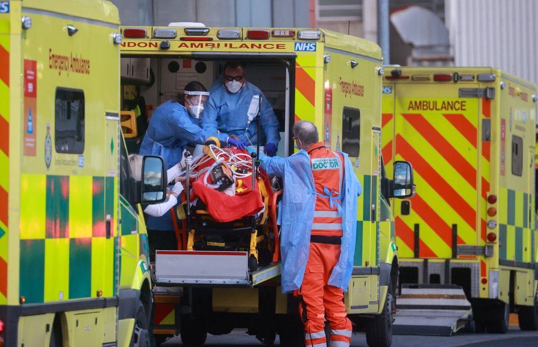 United Kingdom  records 1,035 new COVID-19 deaths on Saturday